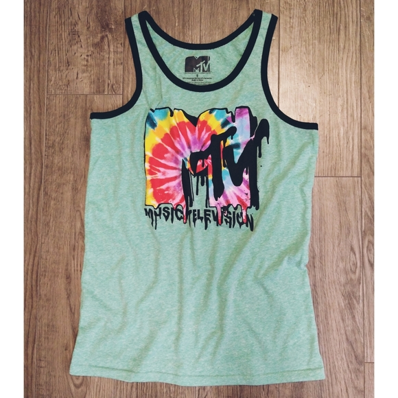 MTV Tank Top Made From Recycled Cotton Small